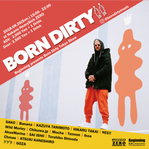Beginning presents Born Dirty Japan Tour