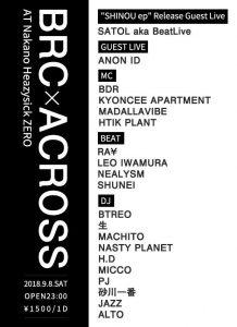 BRC × ACROSS