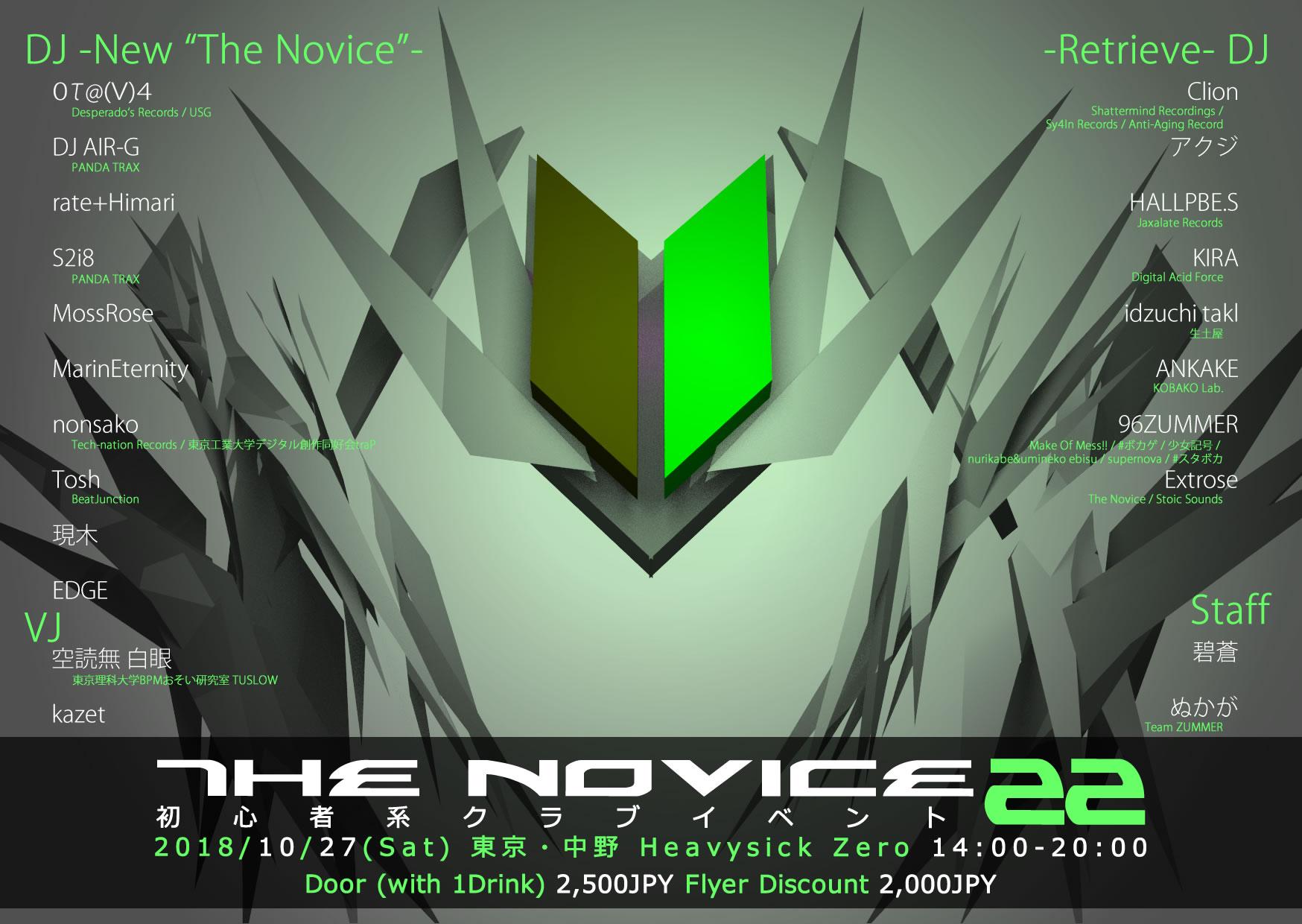 the novice 22 heavysick zero