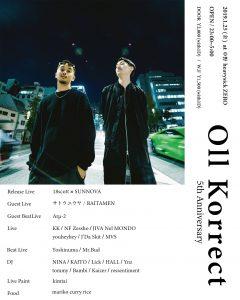 Oll Korrect ~5th Anniversary~
